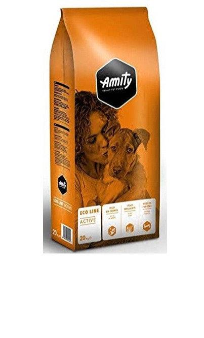 croquettes Amity pour chien adulte ACTIVE en 20kg