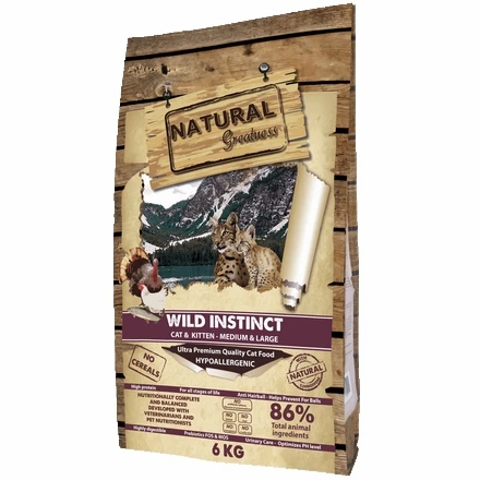 Natural Greatness Wild Instinct Poulet Chaton - Chat Grande Race
