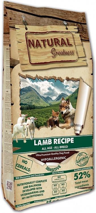 Natural Greatness Lamb Sensitive Agneau Chien Sensible
