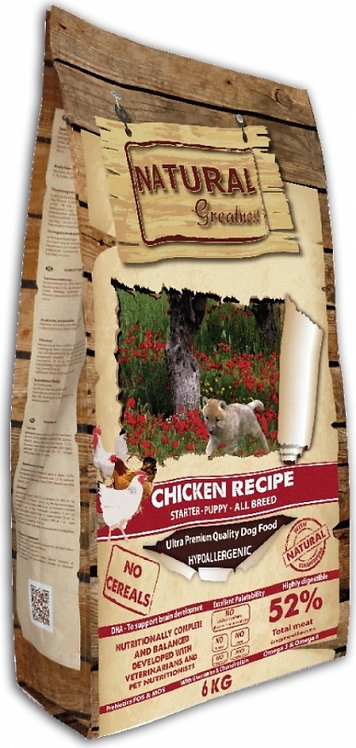 Natural Greatness Chicken Recipe Poulet Chiot