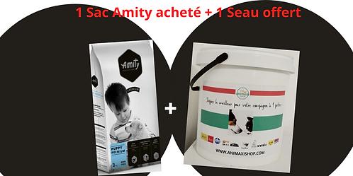 1 Sac Amity acheté + 1 seau Offert
