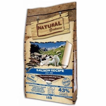 Natural Greatness Sensitive Mini Saumon Chien Adulte Mini
