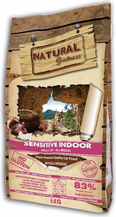 Natural Greatness Sensitive au Poulet Chat Adulte d'interieur ou stérilisé