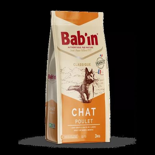 Bab'in croquette Chat Classique -poulet chez animaxishop reunion
