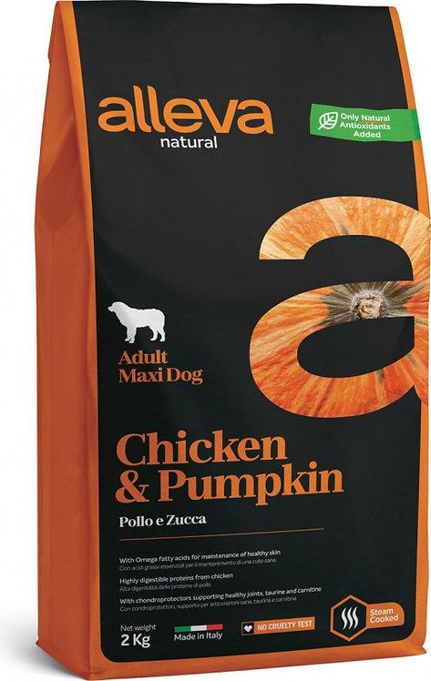 ALLEVA poulet et potiron  pour adulte maxi
