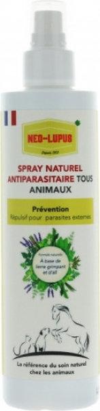 NEO LUPUS Spray Répulsif Antiparasitaire tous animaux