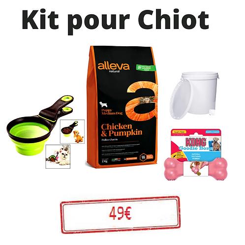 kit de demarrage pour chiot + 1 cadeau surprise