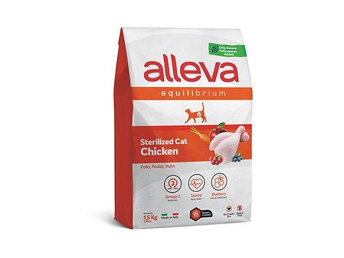 ALLEVA Equilibrium au poulet pour chat stérilisé