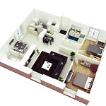 open-neutral-apartment-two-bedrooms-plan