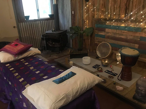 1 on 1 Sound Healing Session (60 mins) - Sat 10th April - 11.30-12.30pm