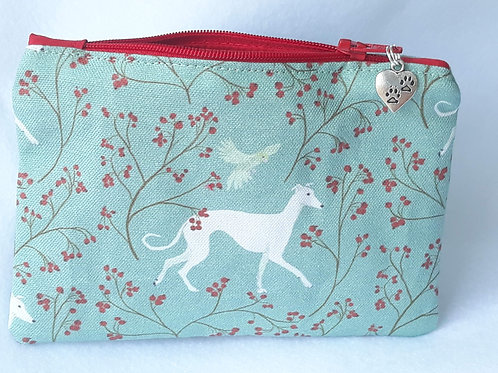 Arts & Crafts Style Greyhound / Whippet Purse