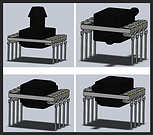 Analog Pressure Sensor, High Accuracy, ASIC MEMS sensor