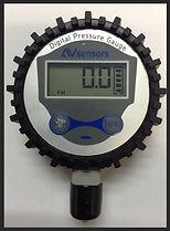 Pressure Gauge, Gas Cabinet Gauge, Large Display Gage