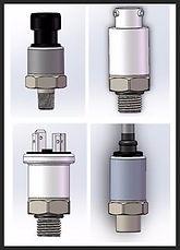 I2C, SPI Digital Output Pressure Transmitter