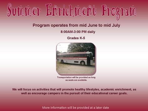 Summer Cultural Enrichment Program