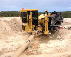 Drilling DN315 Water Main