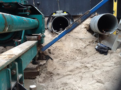 Microtunnelling 300NB Steel Sleeve