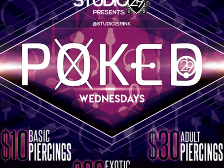 (NEW) POKED WEDNESDAYS!!!