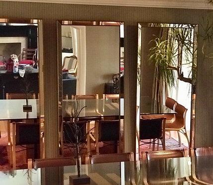 Set 3 espejos 80x180 cms - Marco espejado liso