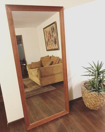 Espejo madera nativa 180x80 cms