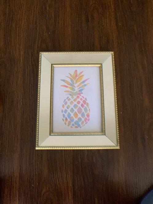 Piña Colores - marco dorado espejado - (cod: PC71)