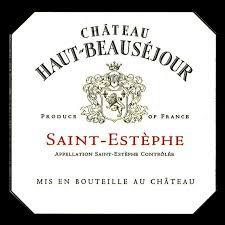 CHÂTEAU HAUT-BEAUSÉJOUR ST-ESTÈPHE 2015