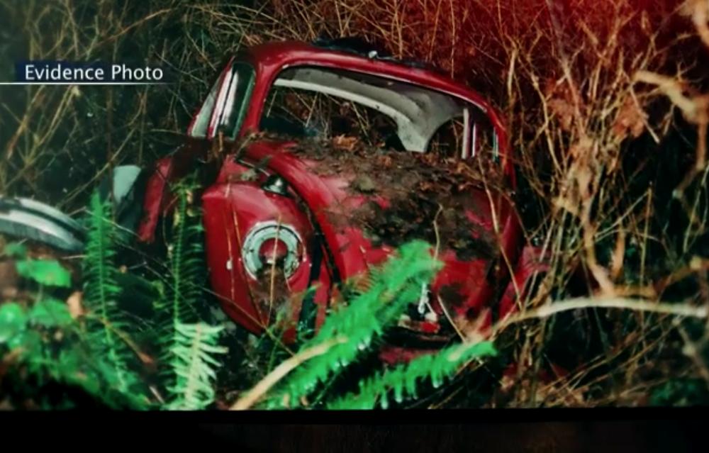 Red Volkswagen found on Mount Solo where Kara Rudd's body was found