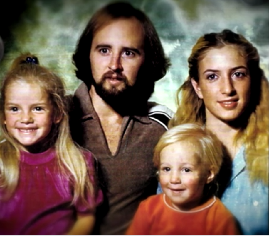The Traxler Family; Stepfather Rusty, Mother Danelle, Rima and younger brother