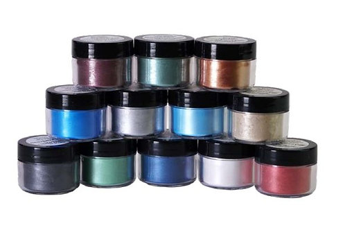 EcoPoxy Metallic Color Pigments 15 Pack