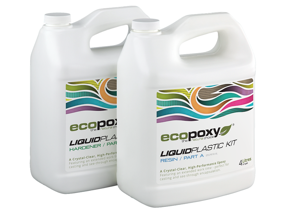 EcoPoxy Liquid Plastic - Multiple Sizes | Rusty Rooster Co