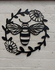 Bee Flower Ring