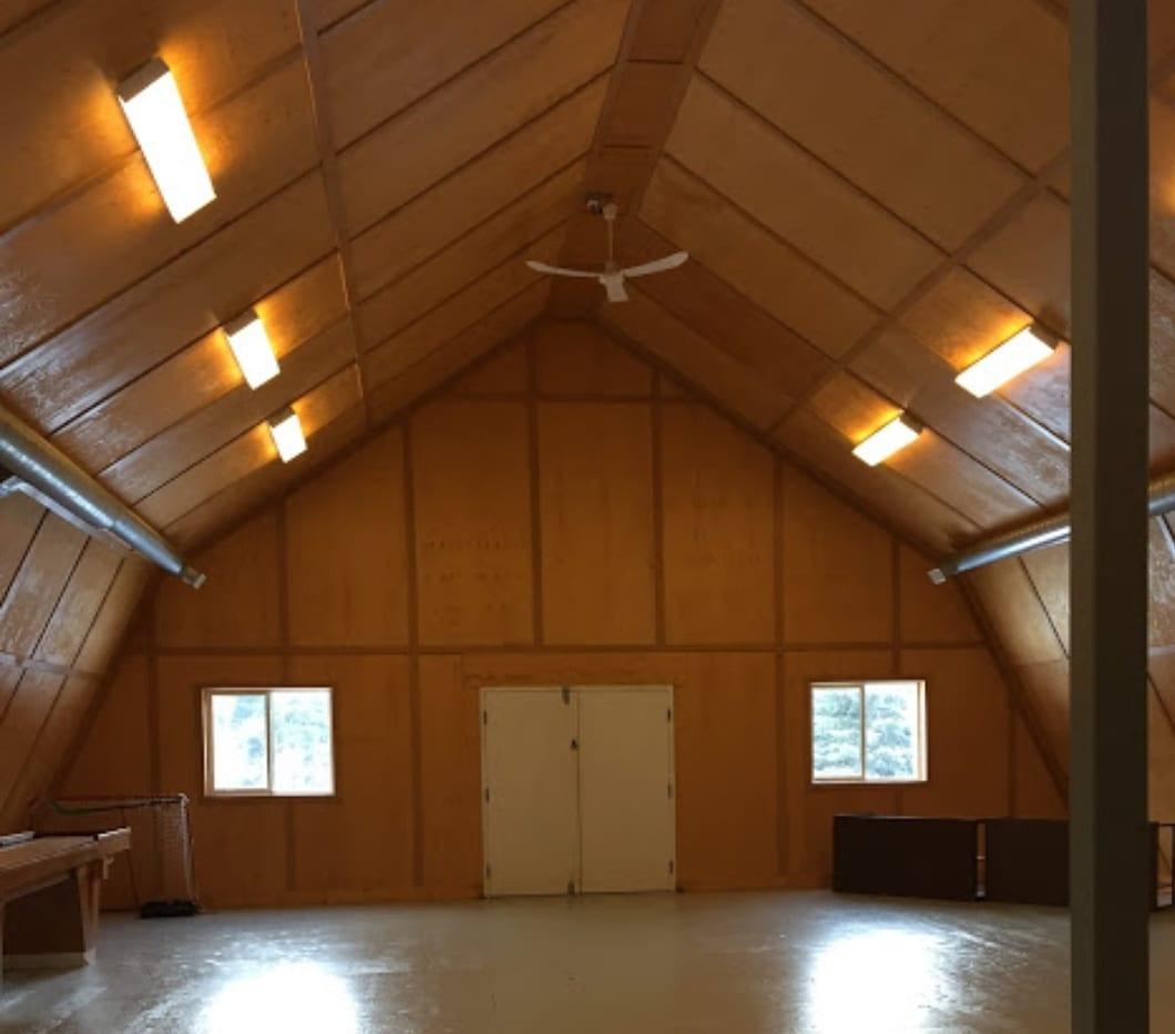 Inside The Workshop Space