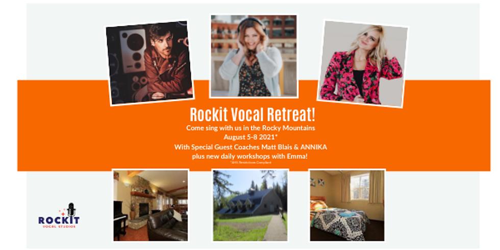 Rockit Vocal Retreat