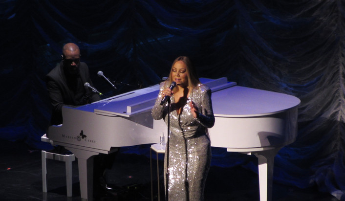 Mariah Carey at Caesars Palace Las Vegas