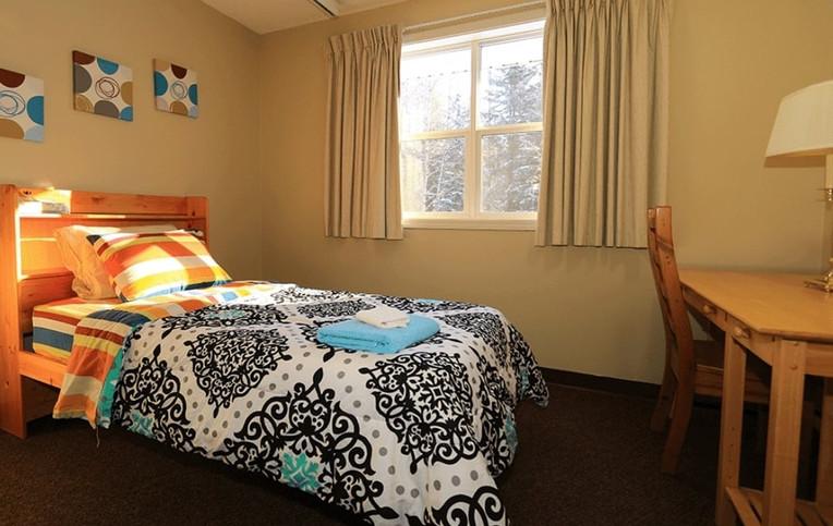 Bedrooms at the URSA Retreat Centre