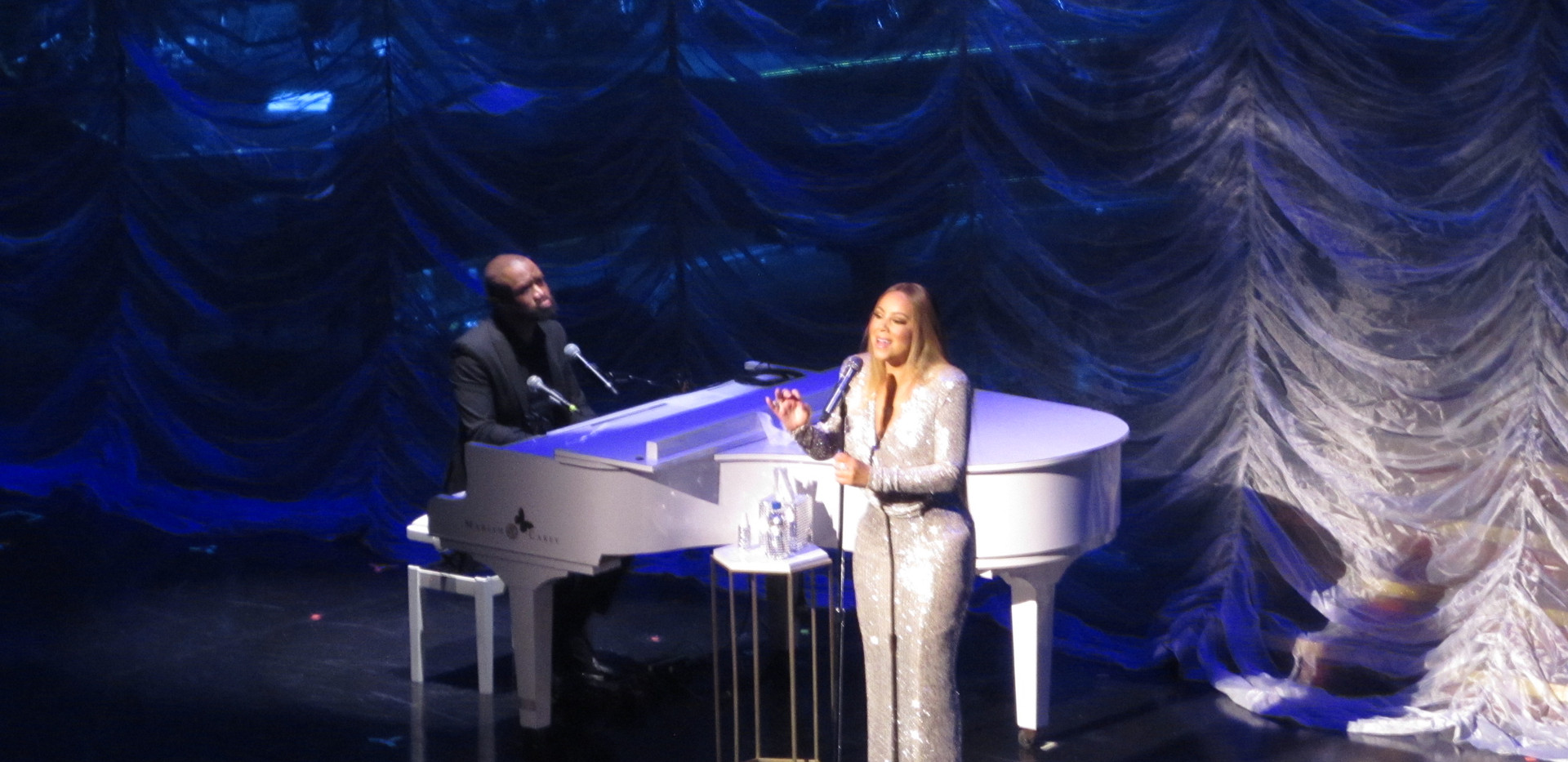 Mariah Carey at Caesars Palace Las Vegas
