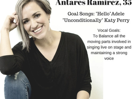 Singing in Spanish! Welcome Antares!