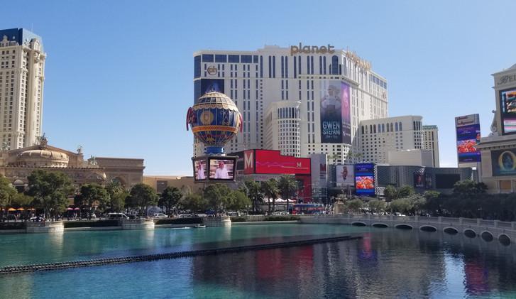 Tourist Action Las Vegas.