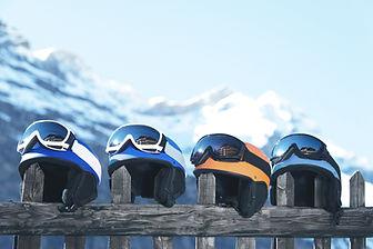 スキーヘルメット