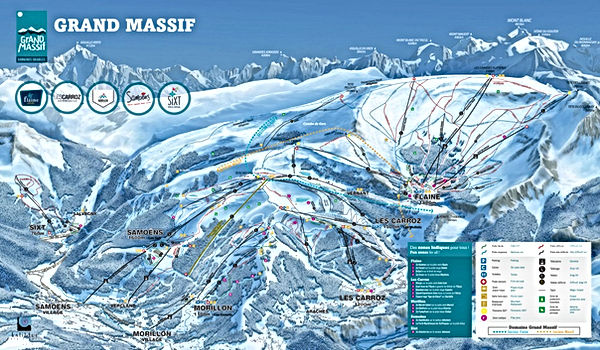 PLAN PISTES GRAND-MASSIF