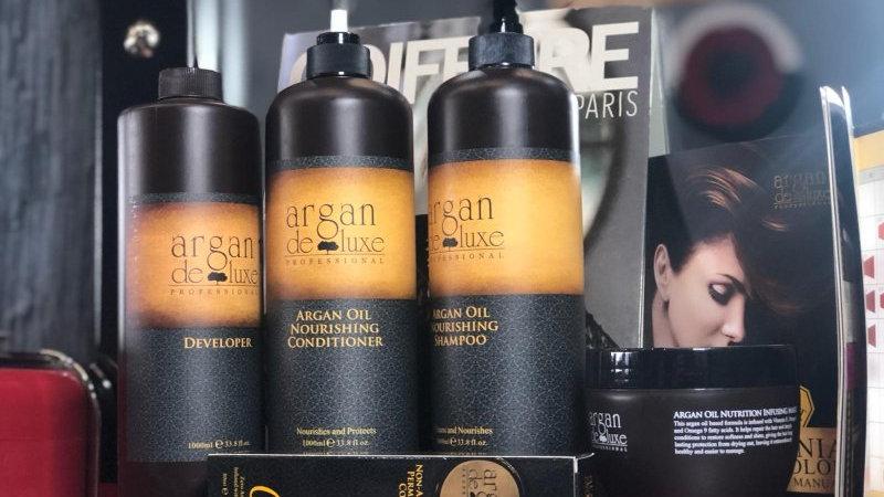 Argan DeLuxe Shampooing à l'Huile d'Argan, 1000ml