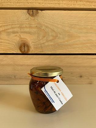 Amandes grillées au miel