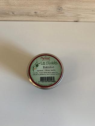 Les olivades au basilic