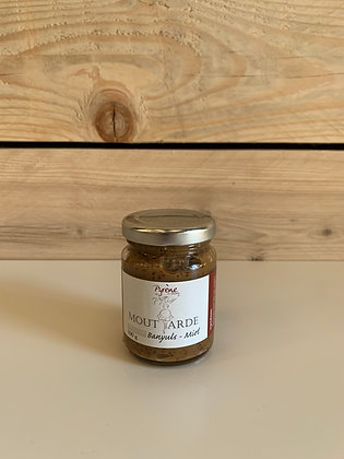 Moutarde banyuls et miel