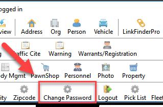 December 2018 Tips - User Password Changes