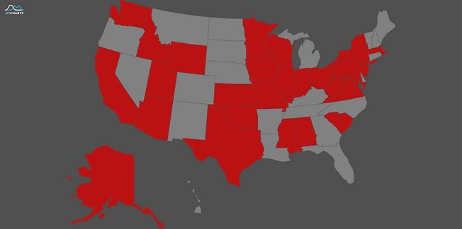 USA Customer Map