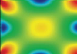 Схема распределения напряжений в стандартном стеклопакете