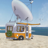 Satellite TV everywhere