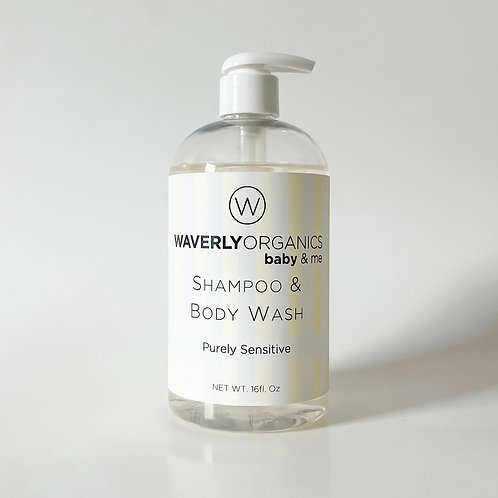 Shampoo & Body Wash - Purely Sensitive