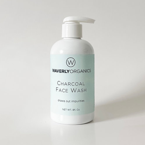 Charcoal Face Wash - Step 1